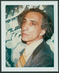 Andy Warhol Stuart Pivar, January 1977. Polacolor Type 108, 4 1/4 x 3 3/8 in. Grey Art Gallery, New York University Art Collection. Gift of The Andy Warhol Foundation for the Visual Arts