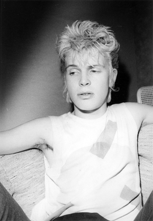 Jimmy De Sana Billy Idol, 1983 Gelatin silver print, 10 x 8 in. Jimmy De Sana Papers