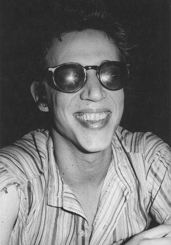 Jimmy De Sana, Richard Hell, n.d. Gelatin Silver print, 10 x 8 in. Richard Hell Papers
