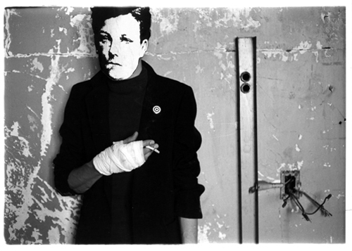 David Wojnarowicz, Untitled, from the series Rimbaud in New York, 1977-79 Gelatin silver print. David Wojnarowicz Papers