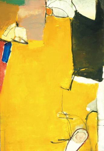 Untitled, 1951 Oil on canvas, 55 x 35 in. University of New Mexico Art Museum, Albuquerque Gift of the artist
