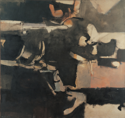 Albuquerque 20, 1952 Oil on canvas, 54 1/2 x 57 in. Byron R. Meyer