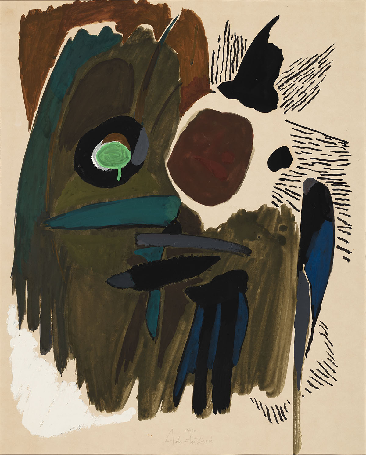 Image for Abstract Composition, 1960