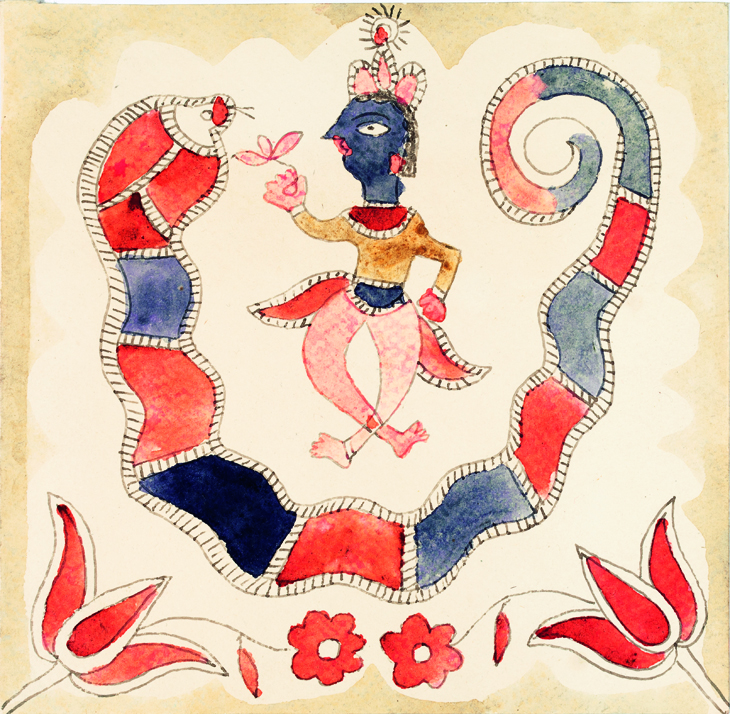 Image for Krishna Dancing on a Snake, 1968