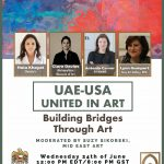 Webinar<br>UAE-USA United in Art: Building Bridges Through Art