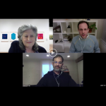 Watch<br>Behind the Scenes at the Grey<br>Joseph Burwell and Reuben Lorch-Miller in Conversation with Lynn Gumpert