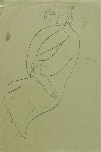 Image for Seated Woman, 1957
