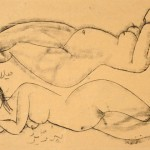 Two Reclining Nudes, 1960