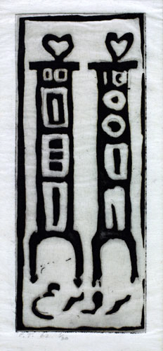 Image for Two Figures, 1962