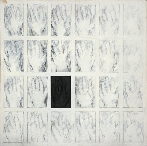 Image for Black Plaster Hand, 1970