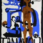 Poster for Tanavoli Exhibition, 1961