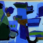 Abstract in Blue, 1961
