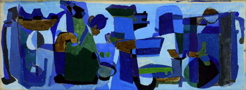 Image for Abstract in Blue, 1961